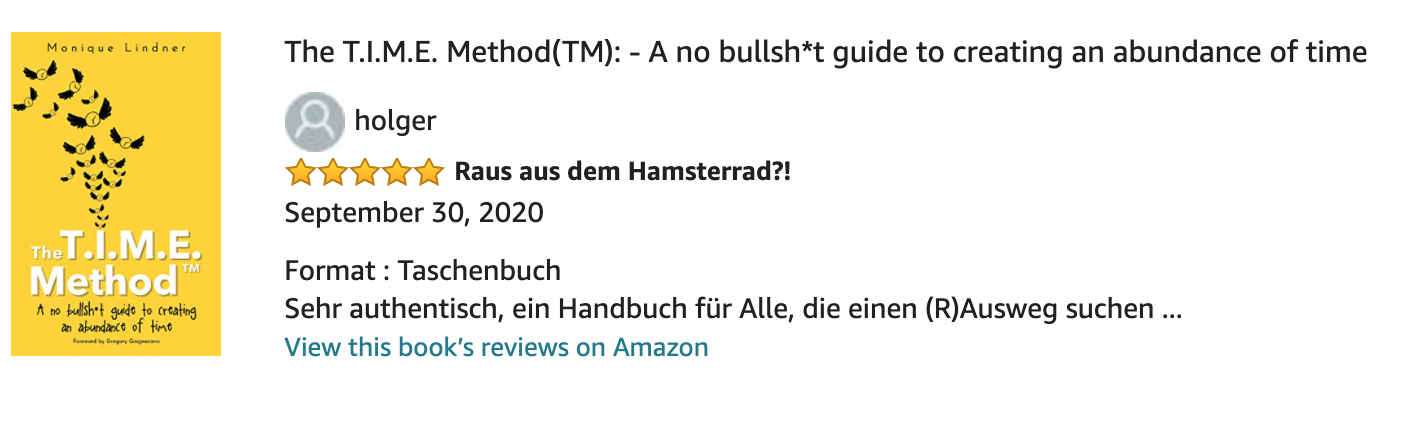 Amazon Review 1